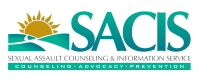 Sexual Assault Counseling and Information Service (SACIS) Logo